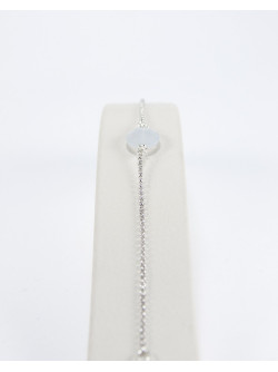 Bracelet en calcédoine, bijoux en pierre naturelle, Bayonne