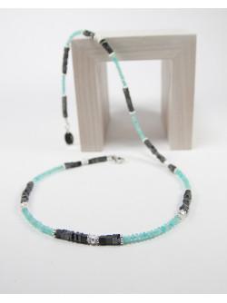 Collier artisanal en pierre naturelle