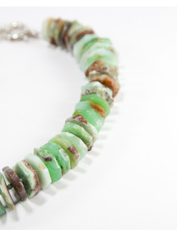 Collier Sanuk Création en pierre semi précieuse