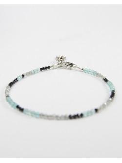 Bracelet artisanal en pierres semi précieuse