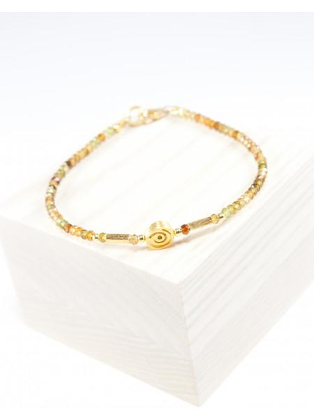 Bracelet en Tourmaline marron