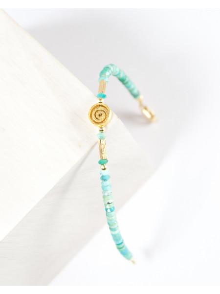 Bracelet en turquoise d'Arizona,