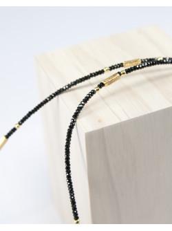Collection épure, collier spinelle sanuk