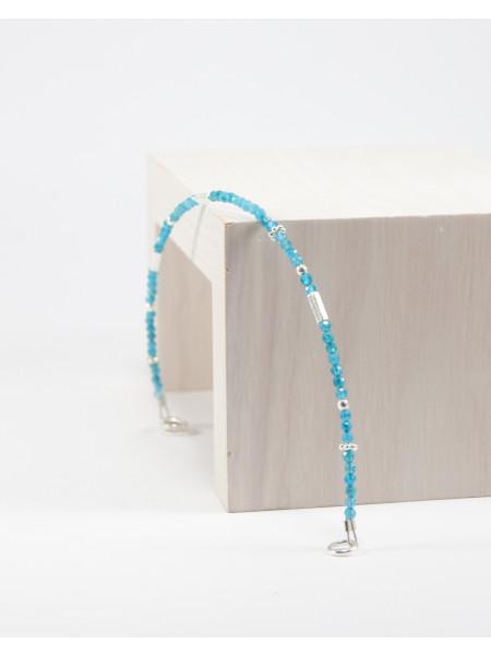 Bracelet en Apatite