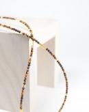 Collier épure oeil de tigre, collection épure, Sanuk Création
