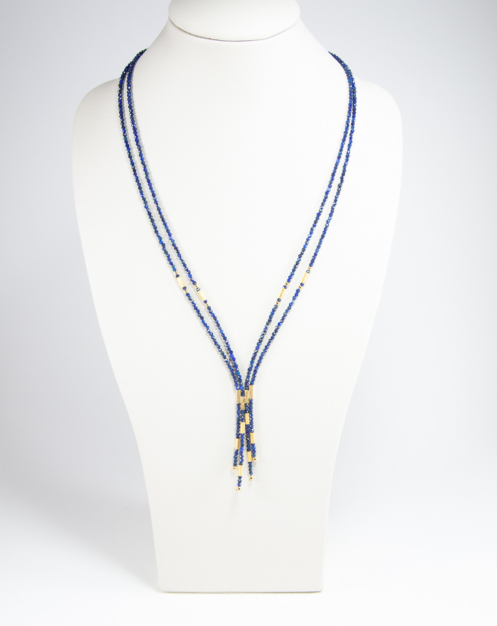 Collier épure en Lapis Lazuli