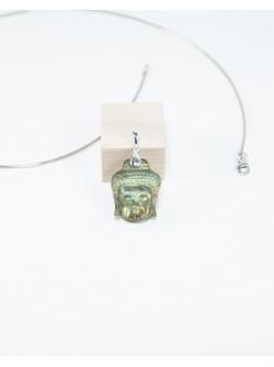 Bouddha en Labradorite, Sanuk Création