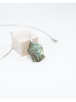 Pendentif Bouddha en Labradorite, Sanuk Création