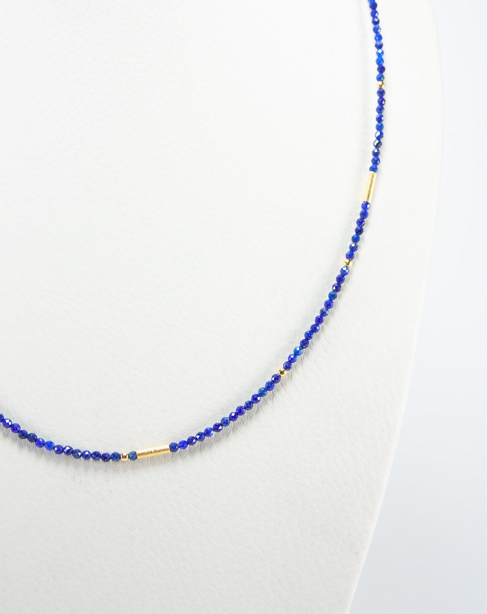 Collier collection épure en Lapis Lazuli, Sanuk Création