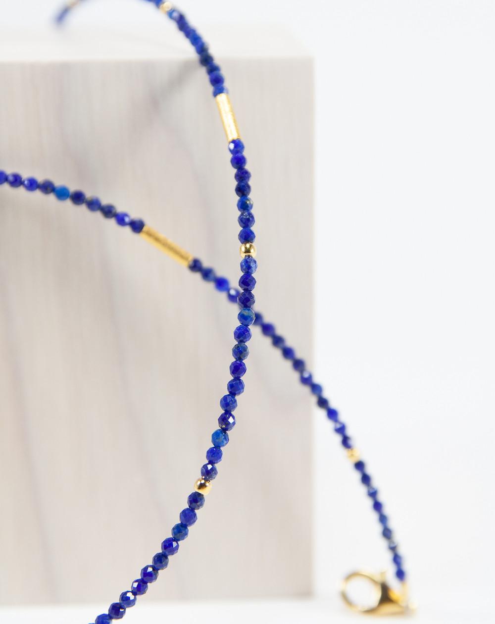 Collier collection épure Lapis Lazuli, Sanuk Création