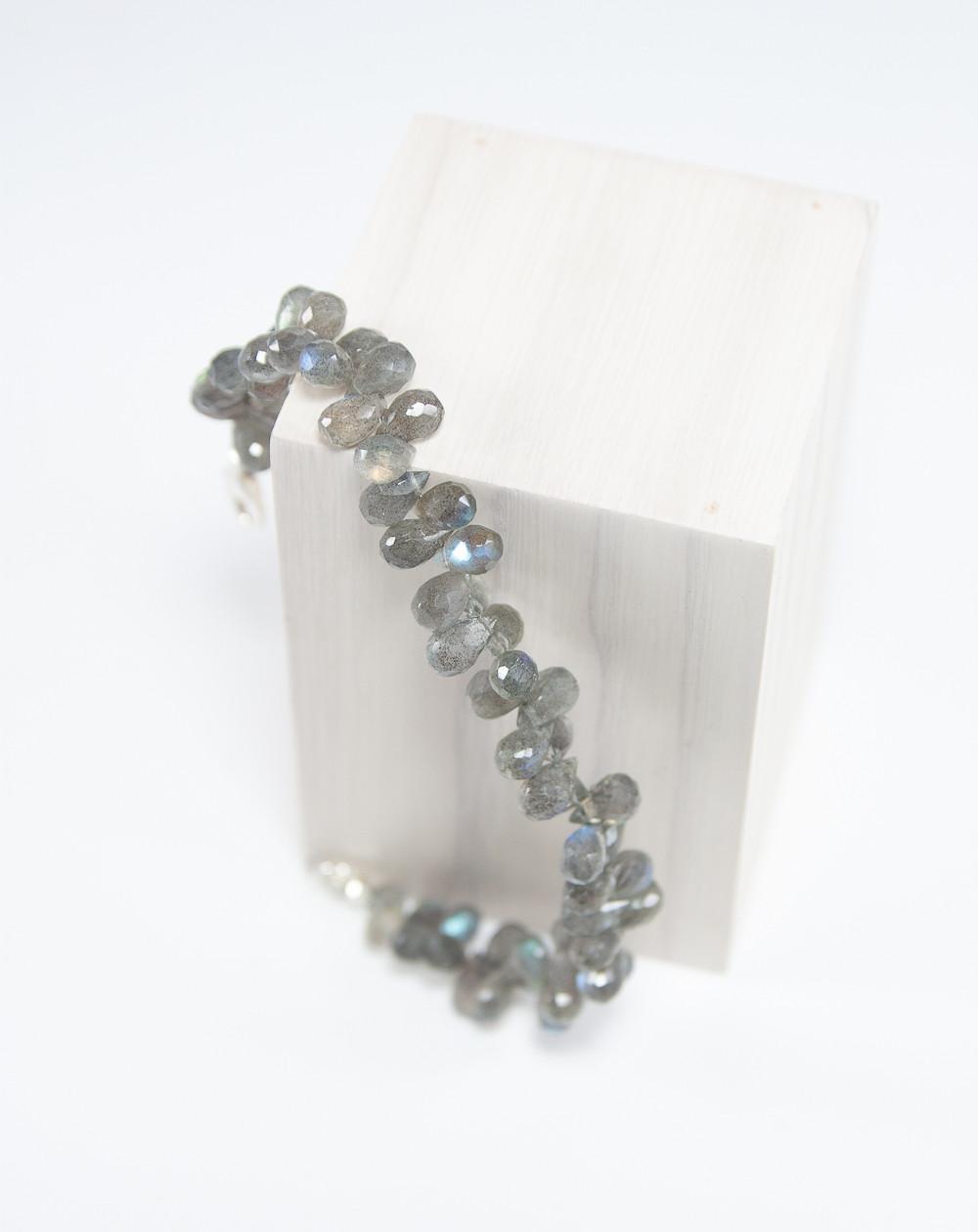 Bracelet en gouttes de Labradorite, Sanuk Création, Bayonne