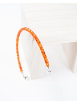 Bracelet en Cornaline, sanuk Création. Créateurs de bijoux Français