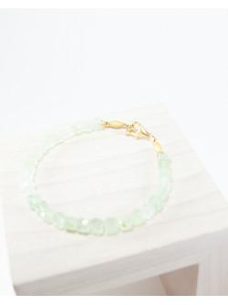 Bracelet en Préhnite, Sanuk création. Créateurs Français