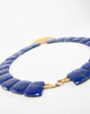 Collier Cléopatre Unik Lapis Lazuli. Sanuk création. Créateurs Français
