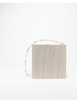 Bracelet collection épure Quartz Rose Labradorite. Créateurs Français. Sanuk Création